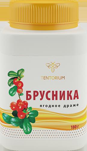 Брусника (ягодное драже), 180г